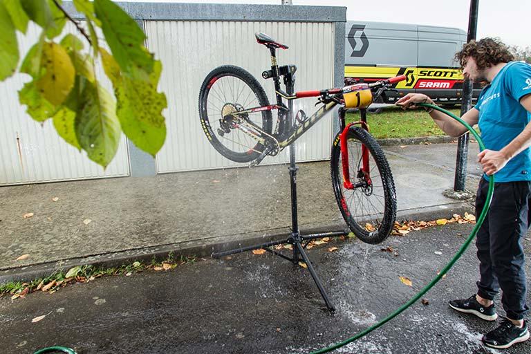 Cómo lavar tu bici
