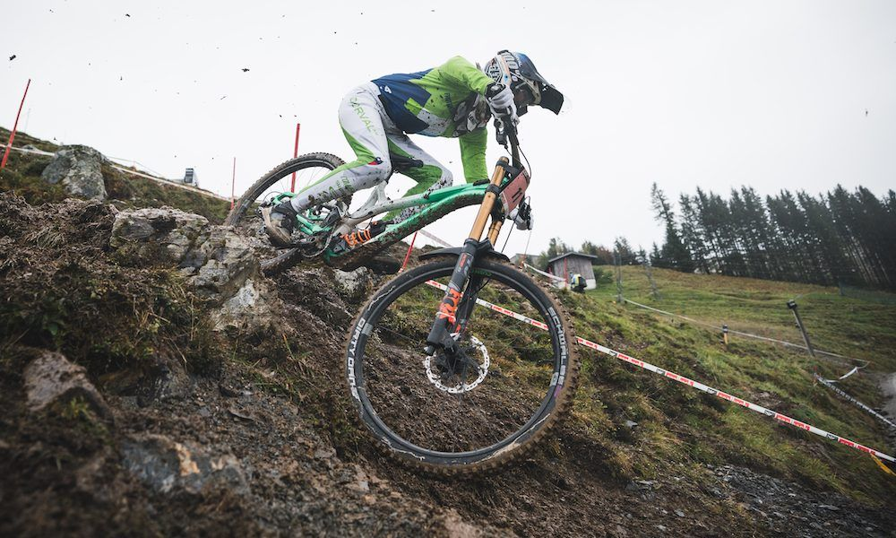 Monika Hrastnik - MEDALLA DE BRONCE UCI DH WORLD CHAMPIONSHIP