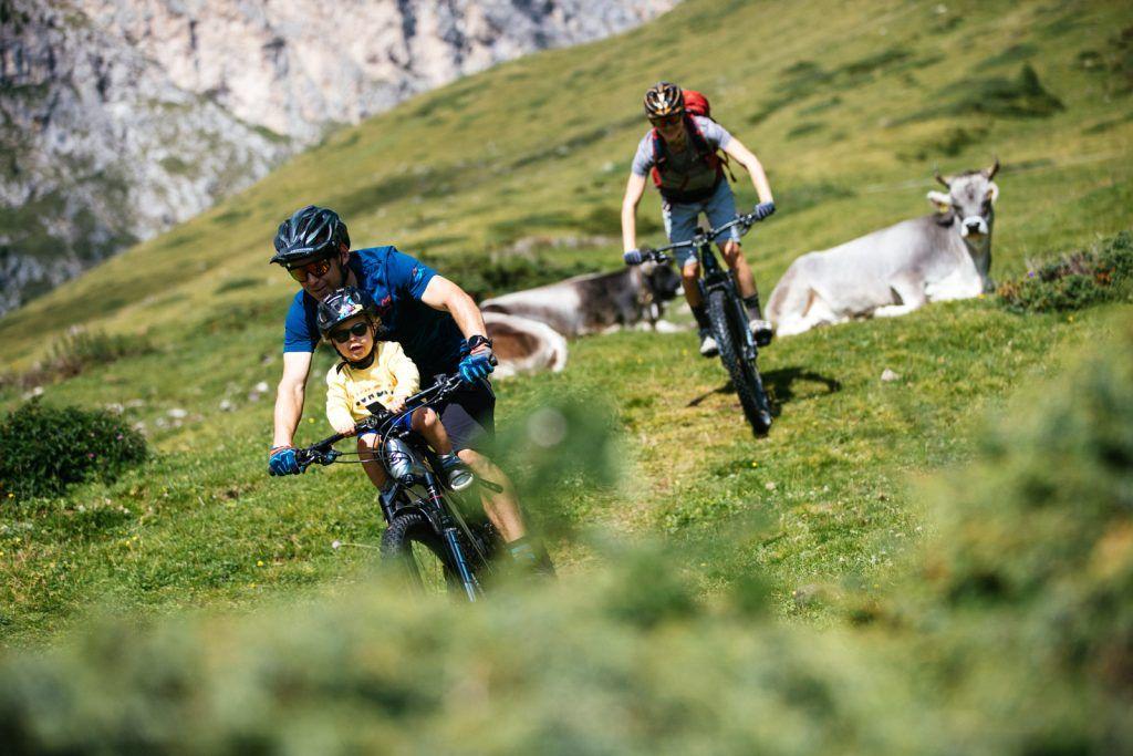 Jerome Clementz: ebikes, familia y vacaciones en los Dolomitas