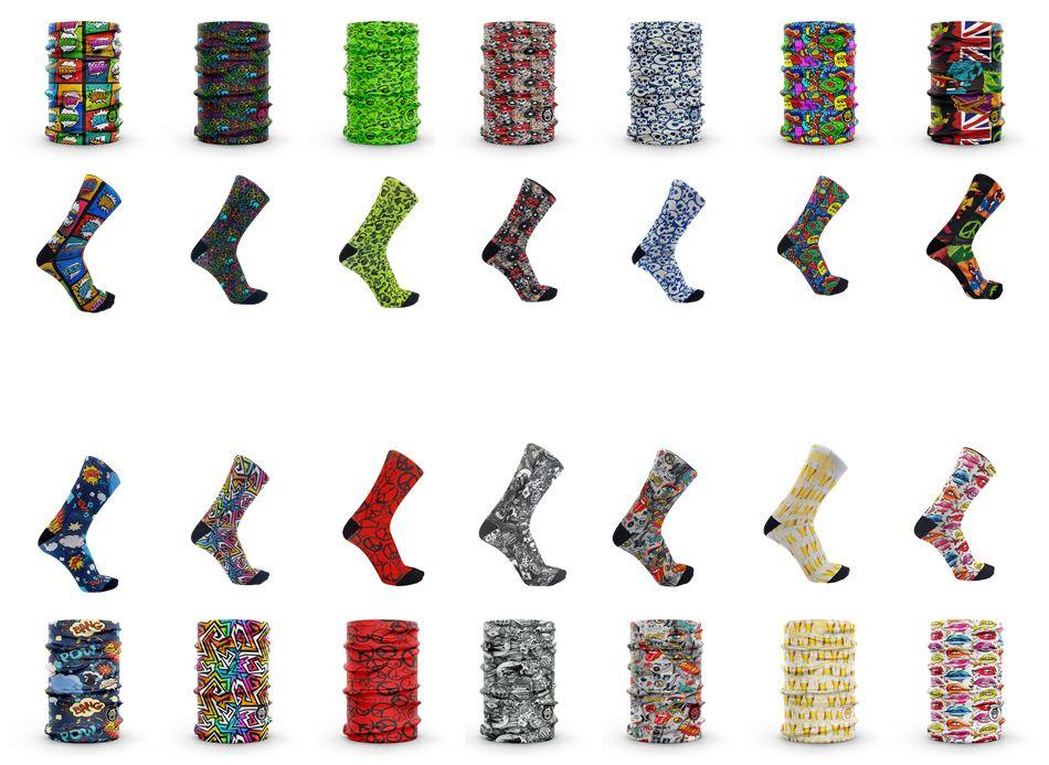 Monolon, calcetines y tubulares originales