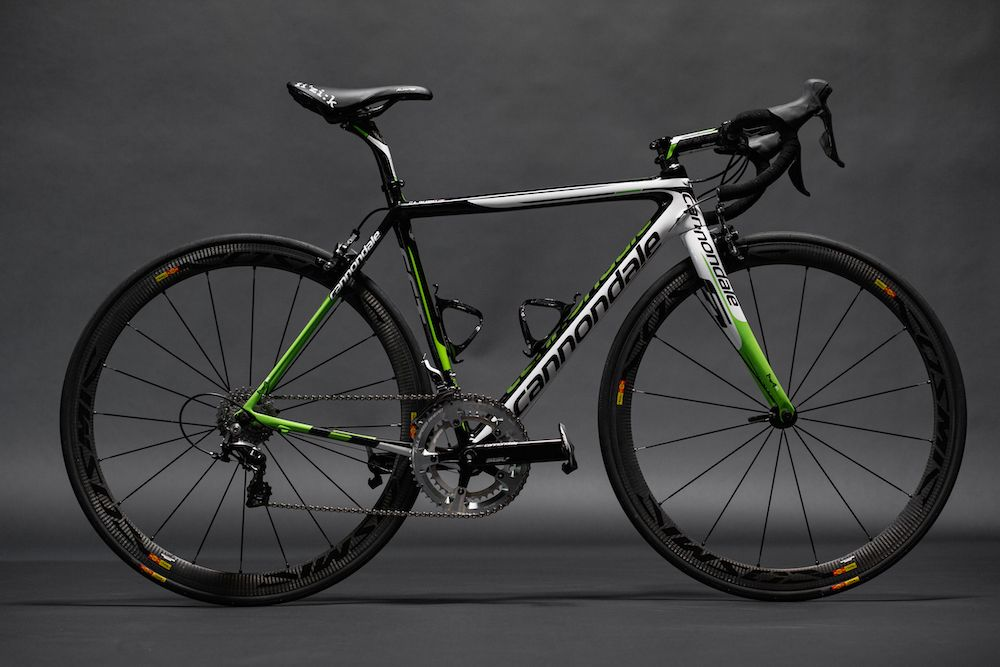 2015 Cannondale Garmin Team Bike