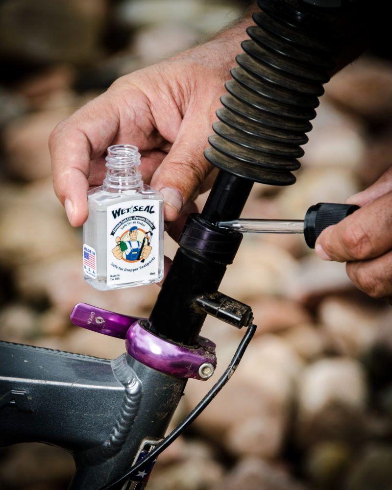 Wet Seal lubricante suspensiones