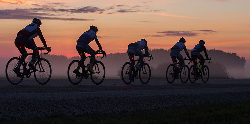 Propósitos de año nuevo de un ciclista