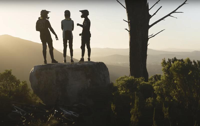 Mountain Bikers en Sudáfrica
