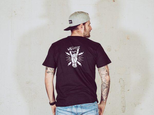 Wallride Clothing Camiseta manga corta negro-2