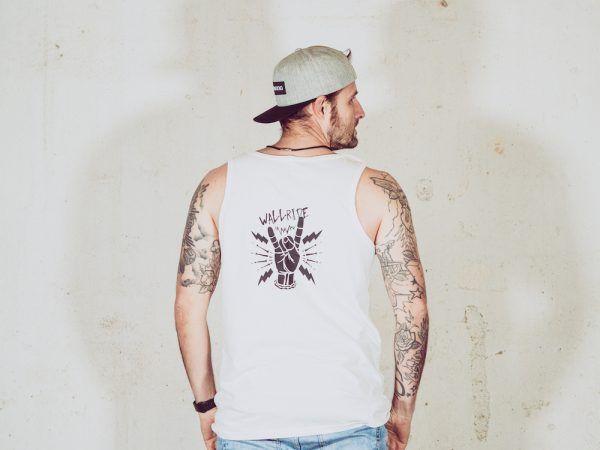 Wallride Clothing Camiseta tirantes blanco-2