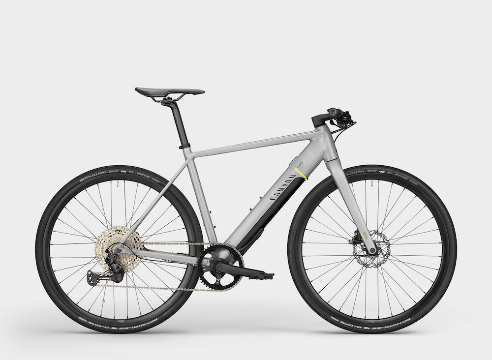 ¿Una Ebike híbrida? CANYON ROADLITE:ON