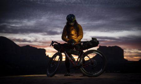 Nico Deportago-Cabrera rides gravel
