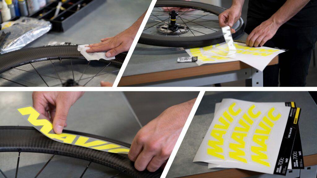 Customiza tus ruedas con MAVIC