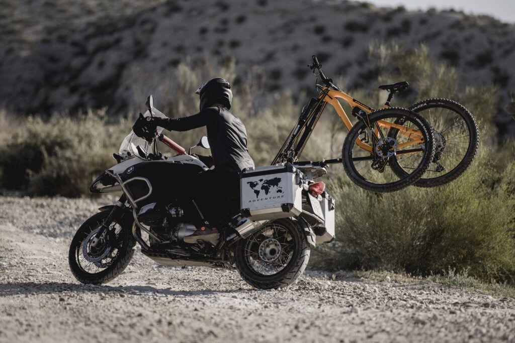2X2 Cycle – Porta bicicletas para moto